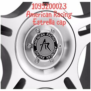 American Racing Machined Wheel Center Hub Cap 4 5lug Ar95t Estrella