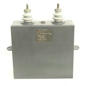 5 5uf 20000v 20kv Paper In Oil Capacitor Ce334 High Energy Corp Usa
