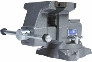 Wilton 28821 Reversible Bench Vise 5 1 2 Jaw Width With 360 Swivel Base