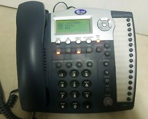 At t Small Business 4 line Phone System 984 12vdc 500ma W Power Supply