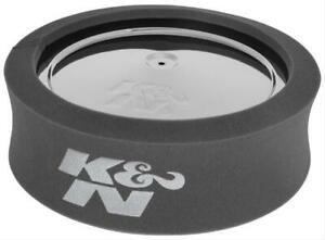 K N Air Filter Wrap Airforce Pre Cleaner Foam Filter Wrap Round 14 X4 Charcoal
