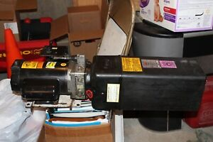 Rotary Lift Pump Assembly 2 0 H P W Mounting Bracket Reservoir Il Local P Up