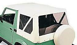 Soft Top White New 98652 86 94 For Suzuki Samurai