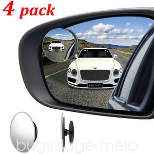 Blind Spot Mirror 4pcs Auto 360 Wide Angle Convex Rear Side View Car Truck Suv