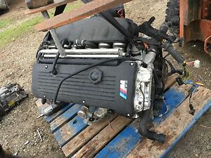2001 2006 Bmw E46 M3 Z4 Mcoupe S54 Manual Engine Motor Harness 333hp Pickup Only