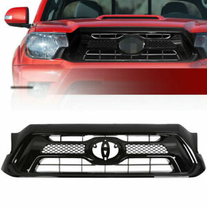 Front Bumper Upper Hood Grille Assembly For Toyota Tacoma 2012 2015