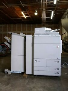 Canon Imagerunner Advance C7270 irac7270 Color Mfp s W finishers Paper Decks