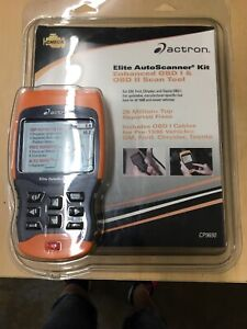 Actron Cp9690 Elite Auto Scanner Kit Enahnced Obd I Obd Ii Scan Tool New
