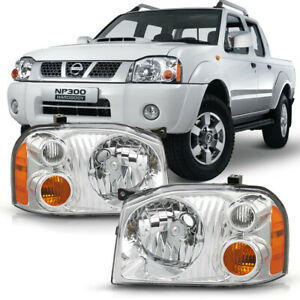 For 01 04 Nissan Frontier Headlight Side Replacement Front Driving Signal Lamps