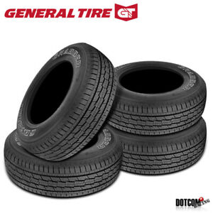 4 X New General Grabber Hts 255 70r17 112s Tires