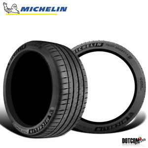 2 X New Michelin Pilot Sport 4s 295 30zr20xl 101y Tires