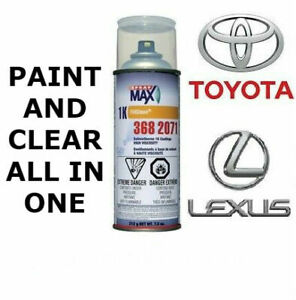 Automotive Touch Up Spray Paint For Toyota Lexus Cars Pain Clear All In One