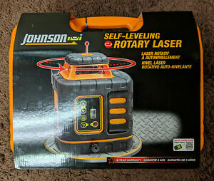 Johnson Self leveling Rotary Laser 40 6539 Brand New
