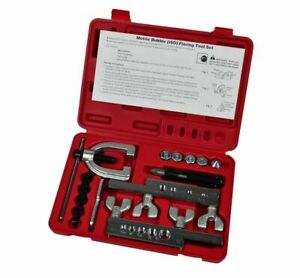 Sae Bubble Iso Metric 45 Double Single Tube Brake Line Flare Flaring Tool Set