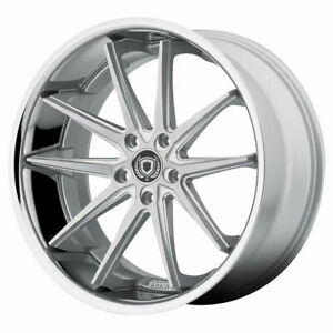 Asanti Abl 05 Altair 20x10 5x112 Et45 Silver Machined With Ss Lip qty Of 4