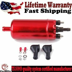High Pressure Inline Efi Electric Fuel Pump Universal Replacement 0580463017 Us