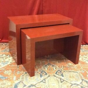 Four Sets Of Two Nesting Retail Display Tables