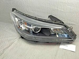 2013 2014 2015 Honda Accord Sedan Halogen W Projector Right Oem Headlight