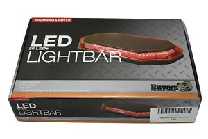 Emergency Light Bar Red Led Multi Mount Magnetic 15 Buyers Products Brand