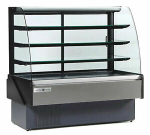 Mvp Hydra kool Kbd cg 50 d Bakery Display Case Non Refrigerated Curved Front