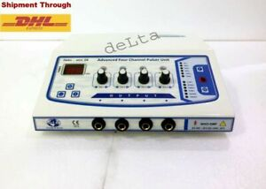Portable Stimulator 4 Channel Electrotherapy Tens Therapy Unit Delta Stim 04