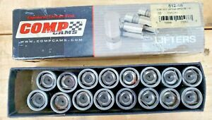 Comp Cams 812 16 Chevy Sb Bb Hydraulic Flat Lifters Competition Set