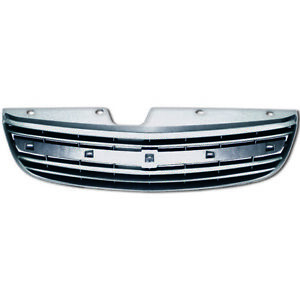 Fits 2000 2001 2002 2003 Chevy Malibu Chrome Abs Oe Style Replacement Grille