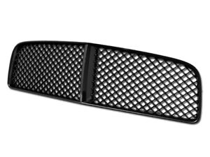 Fits 2006 2010 Dodge Charger Black Abs Mesh Style Front Hood Replacement Grille