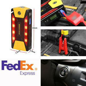 82800mah High Power Car Emergency Jump Starter Power Bank 4 Usb Output 2a Port