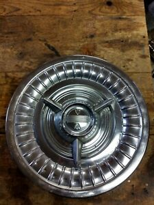 1958 Oldsmobile Flipper Spinner 15 Hubcap Hot Street Rat Rod Custom Heart