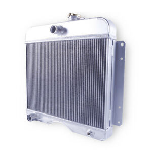 3 Row Aluminum Cooling Radiator For 1946 1953 1964 Willys Station Wagon 1962