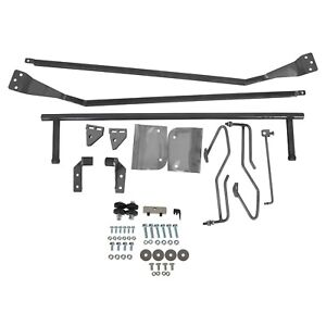 1953 56 Ford F100 F 100 Truck Hood Tilt Flip Kit Stainless Combo Conversion Kit