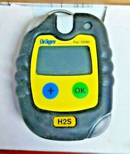 Draeger Gas Detector Hydrogen Sulfide 0 To 100 Ppm 4543963