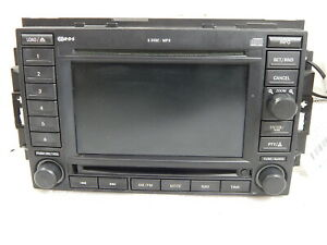 Dodge Magnum Dakota Navigation Gps 6 Disc Cd Player Radio Rec Oem 05064184ad