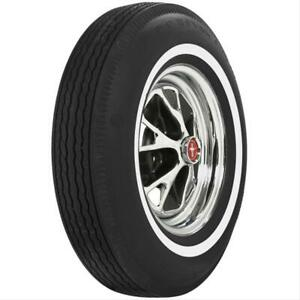Pair 2 Coker U s Royal Tires 6 95 14 Bias ply Whitewall 51385