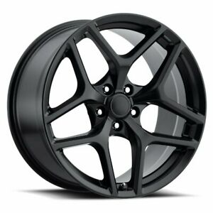 Factory Reproductions Fr 27 Z28 Camaro 20x11 5x120 Offset 43 Stn Blk qty Of 4