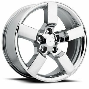 Factory Reproductions Fr 50 Ford Lightning Rim 20x9 5x135 Et8 Chrome Qty Of 4