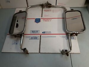 Ford Truck Stainless Steel Jr West Coast Mirrors Fomoco