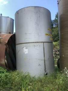 4100 Gallon Stainless Steel Tank Liquid Storage Process Tank