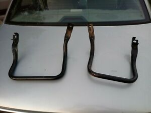 1990 1993 Ford Mustang Rear Lower Back Seat Mounting Bracket Metal Coupe Hatch