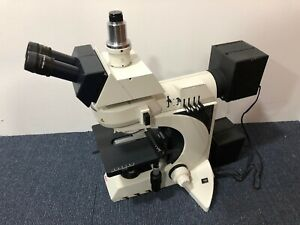 Leica 11888500 Dm Lm p Microscope With 2 Light Source
