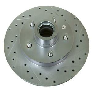 Summit Racing Sum br 66000lc Drilled Slotted Coated Rotor