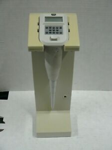 Rainin 1000 Edp Electronic Digital Pipette With Stand