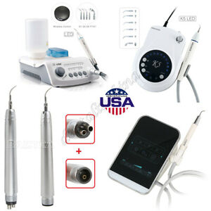 Dental Led Piezoelectric Ultrasonic Scaler Handpiece Hp 4 Ems Woodpecker Style