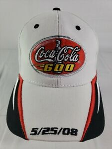 New Coca-Cola 600 Hat/Cap 5/25/08 Lowes Motor Speedway Charlotte White...