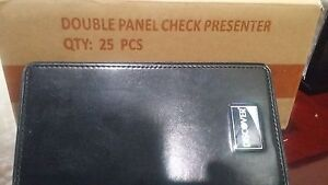 Check Presenters 50 Server Books Restaurant Guest Double Panel