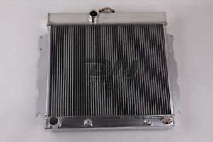 3 Rows Aluminum Radiator Fit 1963 1969 64 65 66 67 68 Dodge Mopar Car 22 Core