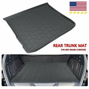 For 2011 18 Jeep Grand Cherokee Cargo Liner Rear Trunk Floor Mat Tray Protector