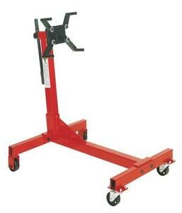Sunex Engine Stand 750 Lbs Capacity Non folding Steel Red Each
