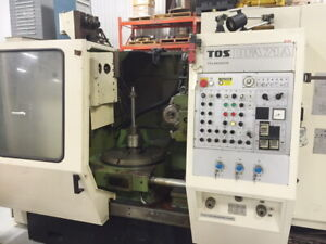 Tos Ofa71a Vertical Gear Hobbing Machine